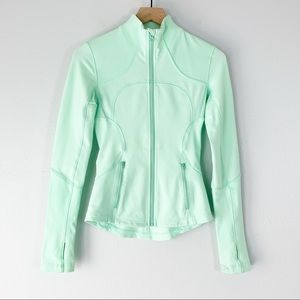 Lululemon Forme Jacket In Light Teal Size 2